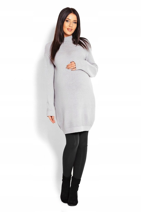 Sweter Ciążowy Model 40009C Grey PeeKaBoo 9838762736 Odzież Damska Swetry YI LSMHYI-5