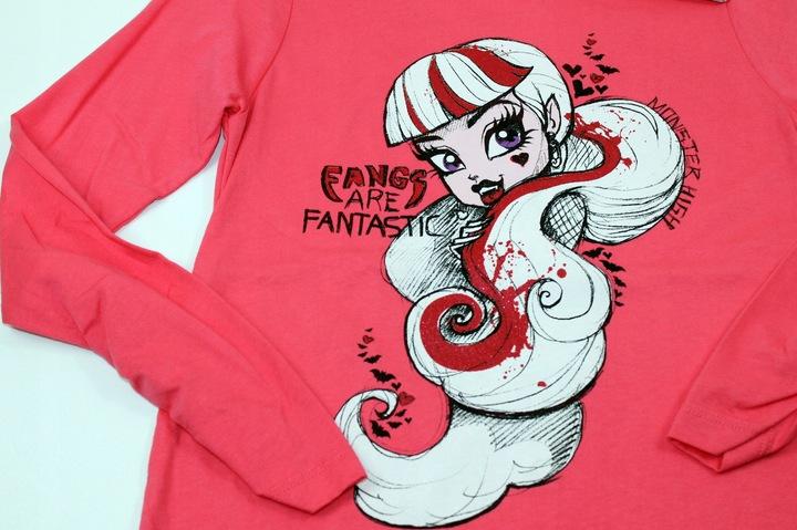 ZARA bluzka bluzeczka MONSTER HIGH 152 cm 11-12 l 9585552295 Dziecięce Odzież CZ GCEZCZ-4