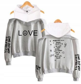 Hot Women's blouse MODNA Lil peep HIT XXL 44 9658262645 Odzież Damska Topy IN JPQOIN-5