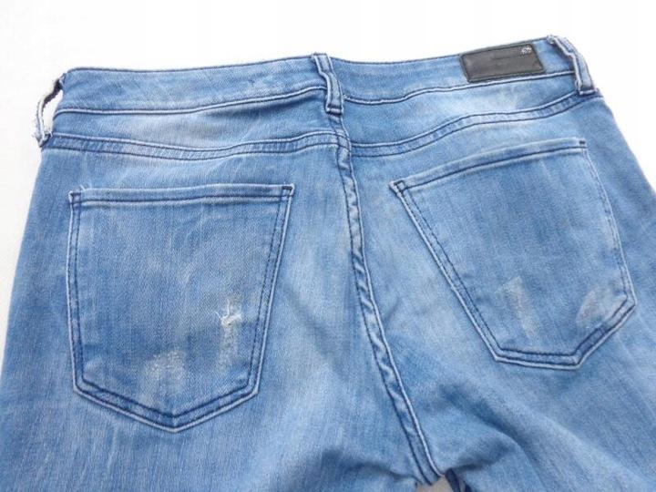 38 ZARA JEANS RURKI BLUE L134 9711996824 Odzież Damska Jeansy TX HPQMTX-2