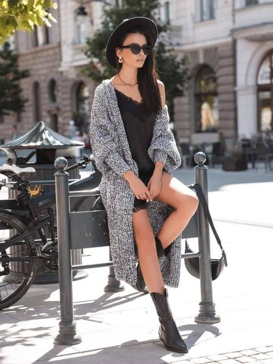 COCOMORE Sweter Kardigan Kolorowy Dlugi MUST HAVE! 9659617002 Odzież Damska Swetry WC EALAWC-1
