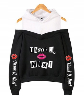 Women's blouse with Ariana Grande M 38's Hood 9654103838 Odzież Damska Topy GR JBTSGR-9