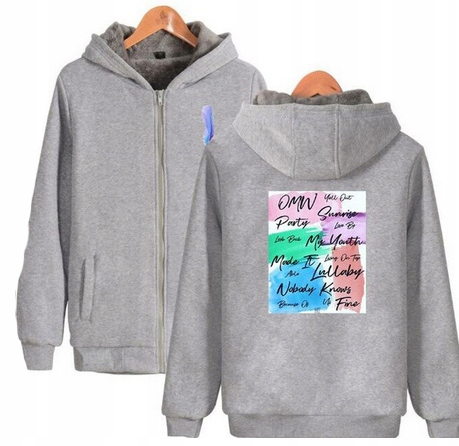 Warm KPOP Hood blouse GOT7 UNISEX XS 34 9658457728 Odzież Damska Topy MR HLMAMR-4