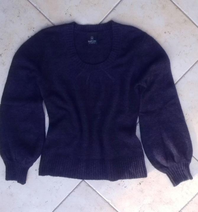 Sweter Madeleine wełna i angora L/XL 9734464865 Odzież Damska Swetry WV XVIPWV-5