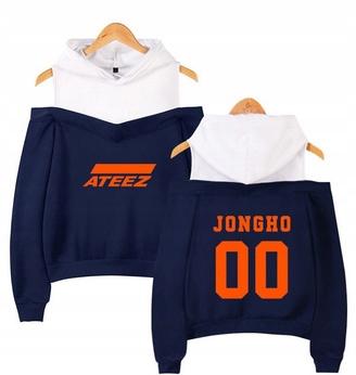 Hot Women's blouse with ATEEZ LATO XS 34 Hood 9648588509 Odzież Damska Topy LH OYHRLH-6