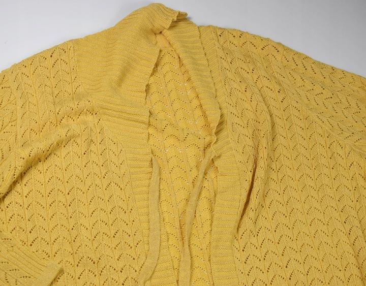 H18 A3 SWETER KARDIGAN DAMSKI MODNY R. 60 9838738340 Odzież Damska Swetry AV LRUMAV-8