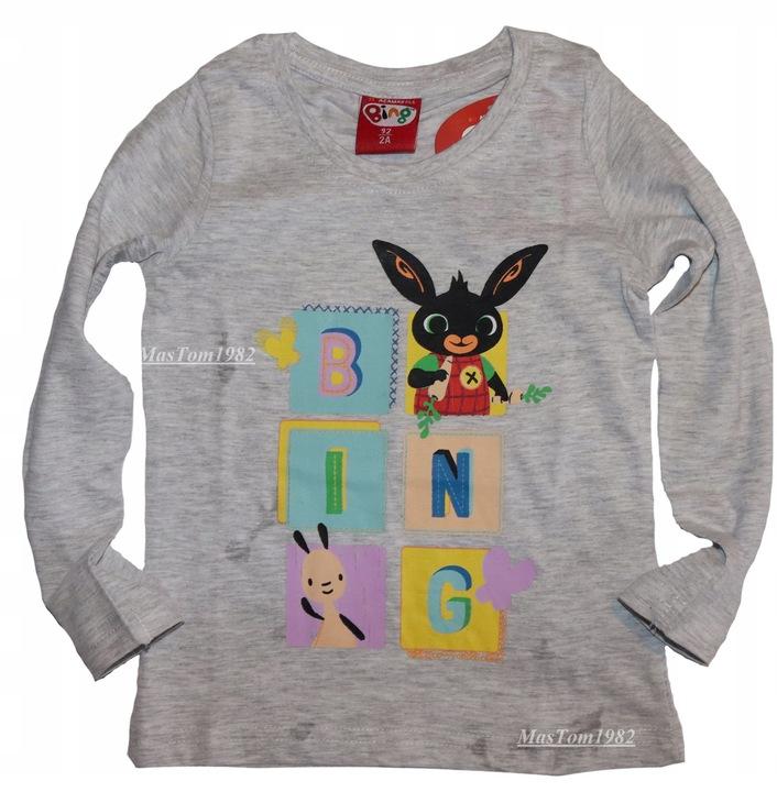 KrÓlik Bing Bluzka Bluzeczka 116 T shirts Sula 9904047539 Dziecięce Odzież DW EVYDDW-6