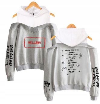 Warm MODNA Women's blouse Lil peep HIT XS 34 9658262322 Odzież Damska Topy JZ TEMMJZ-8