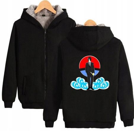 Warm blouse with ANIME Naruto L 40 Hood 9658270301 Odzież Damska Topy TX TPZGTX-8