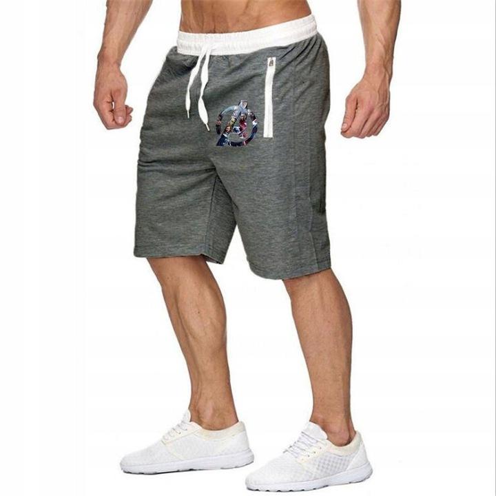 Szorty męskie Męskie spodnie dresowe do fitnessu S 9625095254 Odzież Męska Spodenki UE CTGJUE-8