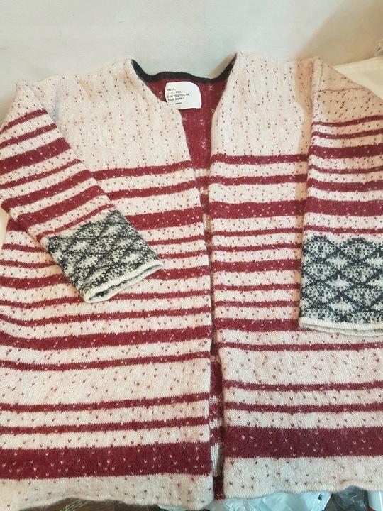 Kardigan LEON & HARPER Baby Alpaca sweter r 34 8580002729 Odzież Damska Swetry UM TGBDUM-7