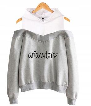Women's blouse with Ariana Grande S 36's Hood 9654102114 Odzież Damska Topy ZP AAQBZP-3