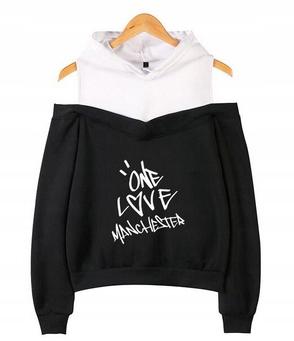 Women's blouse with Ariana Grande XS 34 Hood 9654102274 Odzież Damska Topy SF ZTMTSF-4