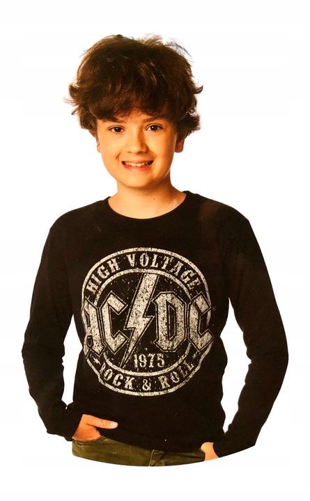 ROCK&ROLL AC/DC bluzka koszulka t-shirt *170 9328474983 Dziecięce Odzież CF RKRVCF-2