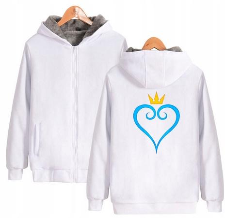 Warm Kingdom Heart Capture T-shirt with GRY Kingdo 9658456183 Odzież Damska Topy FN XSXDFN-8