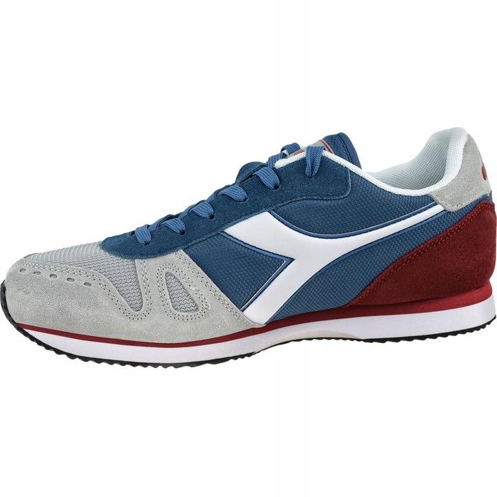 Niebieskie Szare Inny materiał Diadora r.44 9219321398 Buty Męskie Sportowe RU HAMYRU-5