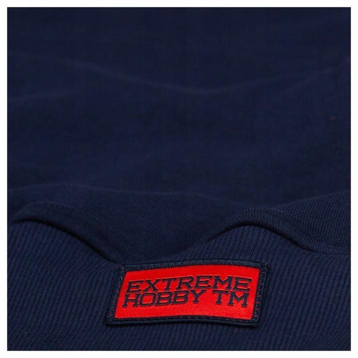 Crewneck Extreme Hobby Block Striped czerwony M 8615895925 Odzież Męska Bluzy MU CPAYMU-3