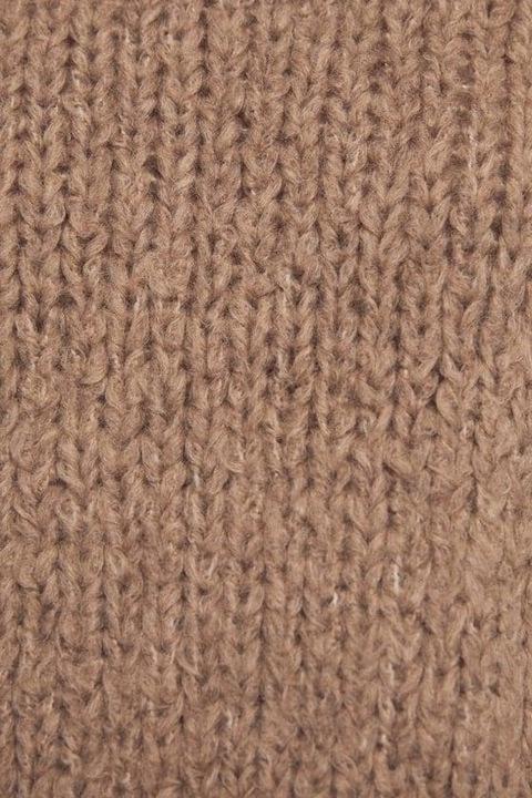 V3C301*ZARA KRÓTKI SWETER DAMSKI BRĄZ 36 S U01 9847251791 Odzież Damska Swetry QB COIAQB-2