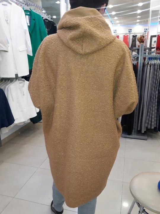 CIEPŁY KARDIGAN NARZUTKA Z KAPTUREM OVERSIZE 9752785160 Odzież Damska Swetry WA JTRMWA-4