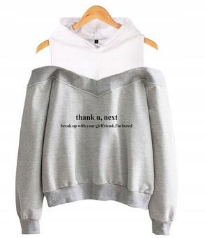 Women's blouse with Ariana Grande M 38's Hood 9654103849 Odzież Damska Topy KH JQTGKH-2