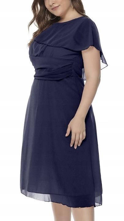 Sukienka Suknia wieczorowa wesele granatowa XXL 44 9247696277 Odzież Damska Sukienki wieczorowe VX AGHOVX-4