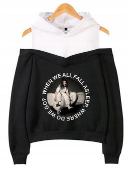 Warm Billie Eilish hoodie LATO XL 42 9651197680 Odzież Damska Topy WS AMZMWS-4
