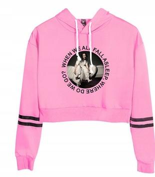 HIT Warm blouse Billie Eilish NEW XS 34 9658263987 Odzież Damska Topy RC UCEORC-6