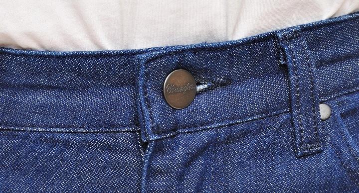 WRANGLER spodnie JEANS dark CROP STAR FLARE W26 8997661507 Odzież Damska Jeansy XS HAERXS-4