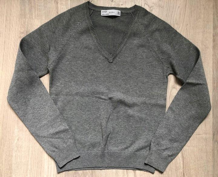 ZARA, jesienny sweterek, rozmiar S/M, JAK NOWY 9824546293 Odzież Damska Swetry RQ KUTCRQ-3