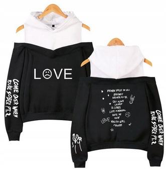 Warm Women's blouse MODNA Lil peep HIT M 38 9658262586 Odzież Damska Topy PI JTTGPI-4