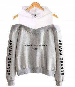 Women's blouse with Ariana Grande S 36's Hood 9654106056 Odzież Damska Topy TD FBWJTD-9