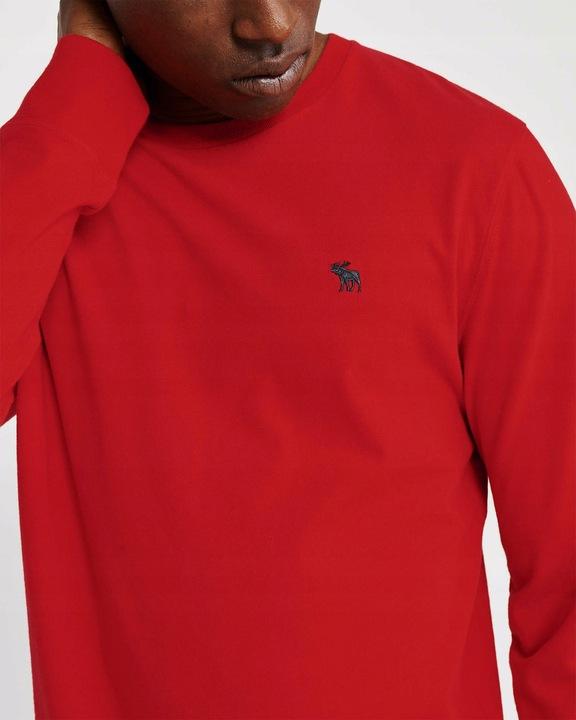 ABERCROMBIE Hollister Longsleeve T-shirt Logo L 9552026127 Odzież Męska Koszulki z długim rękawem GQ MMFAGQ-8