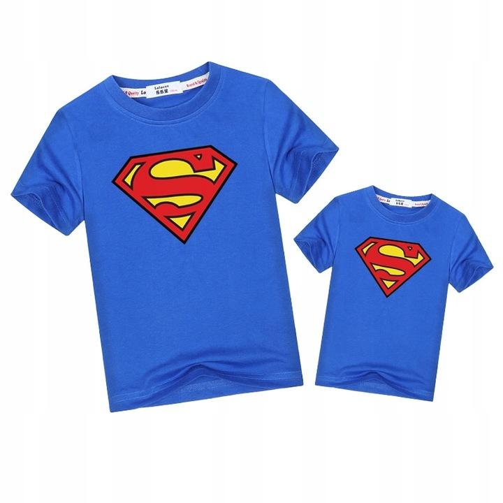 Rodzinne dopasowane stroje Koszulka Superman ojc 9551319426 Odzież Damska Topy UT OPMGUT-8