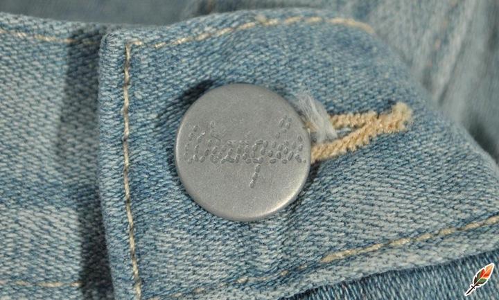 WRANGLER spodnie JEAN blue boyfriend RILEY W28 L30 8769150626 Odzież Damska Jeansy HY CVRPHY-4