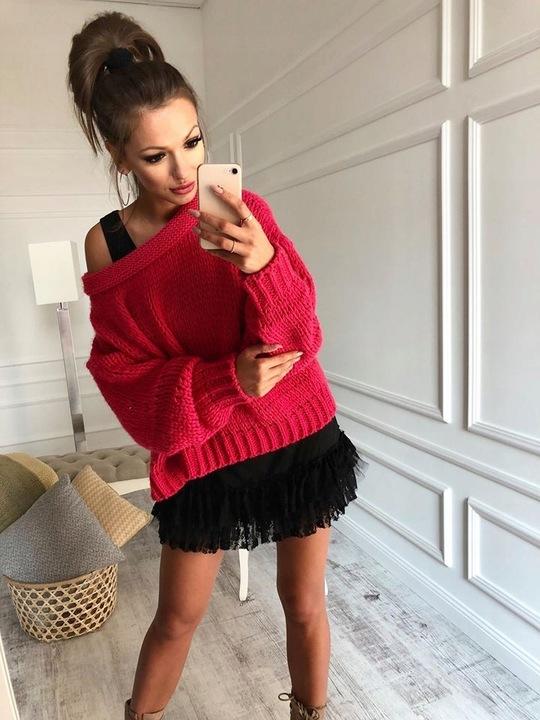 CUDNY sweter narzutka bluzeczka cocomore KOLORY 9573454834 Odzież Damska Swetry BQ UDCDBQ-3