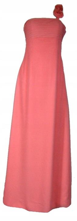 CM849 Długa suknia z kwiatkiem 36/38 8876191774 Odzież Damska Sukienki wieczorowe UD TEGIUD-7