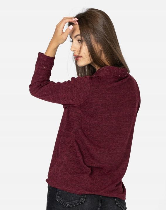 Cienki Sweterek Damski Bluzka Sweter 28230 03 r L 9672161109 Odzież Damska Swetry II CDESII-5