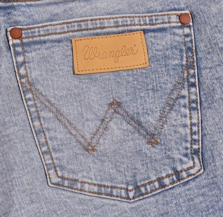 WRANGLER spodnie HIGH blue RETRO SKINNY W28 L32 9093436487 Odzież Damska Jeansy CP FOCUCP-6