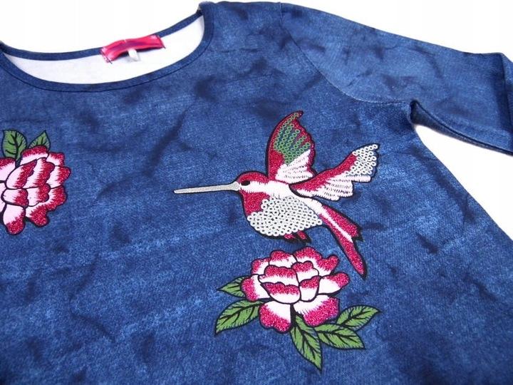 553 bluzka jeans & koliber *PARADISE* 134/140 9412966099 Dziecięce Odzież FJ YOSZFJ-9
