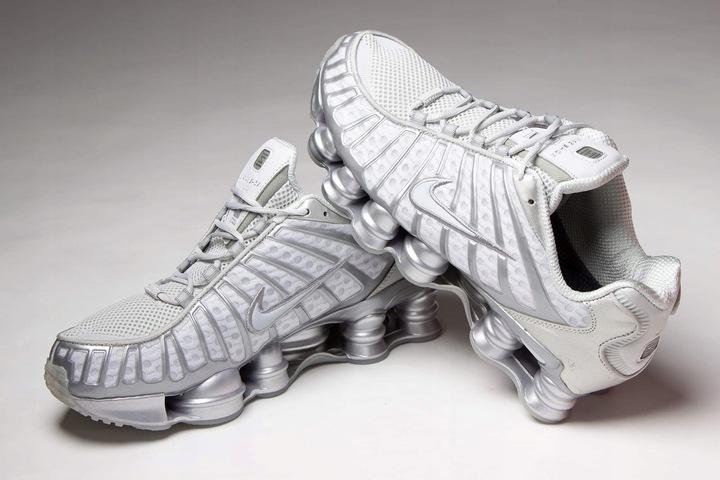 Buty Nike Shox TL silver Nowosc 2020 9700896169 Buty Męskie Sportowe DE BIGHDE-3