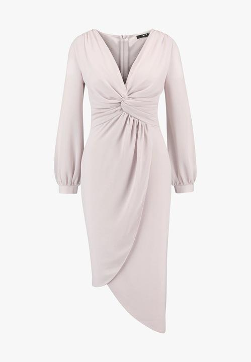 Sukienka koktajlowa new mink TFNC rozm.38 9044311952 Odzież Damska Sukienki wieczorowe EV XYWAEV-8