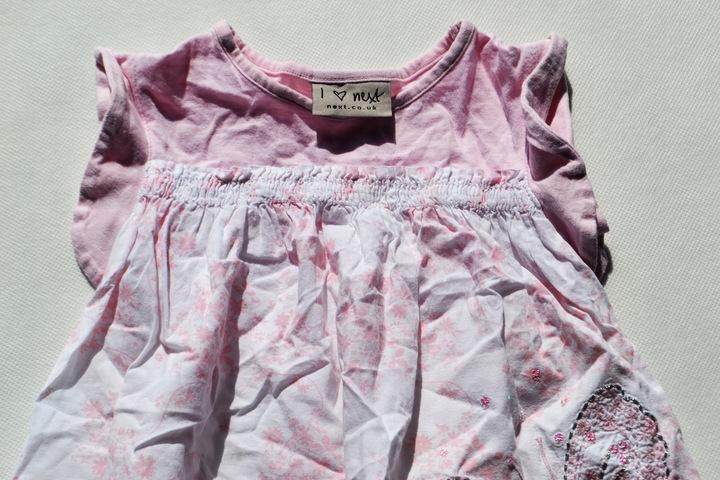 Bluzka-tuniczka Next, rozm.92 9924618094 Dziecięce Odzież GI GYWJGI-3