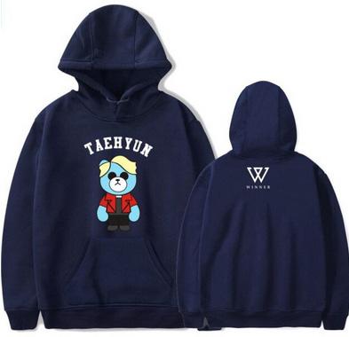 Seungyoon hoodie MISIO M 38 9658265212 Odzież Damska Topy UG HTXYUG-7