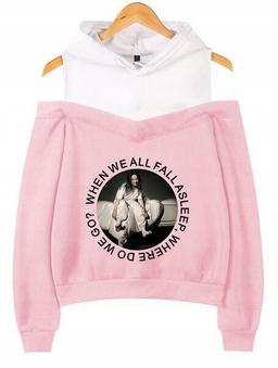 Warm Billie Eilish Capture Shirt XXL 44 9654104217 Odzież Damska Topy TI VEMUTI-2