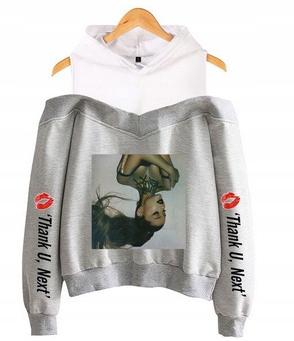 Women's blouse with Ariana Grande S 36's Hood 9654103243 Odzież Damska Topy AH MJURAH-9