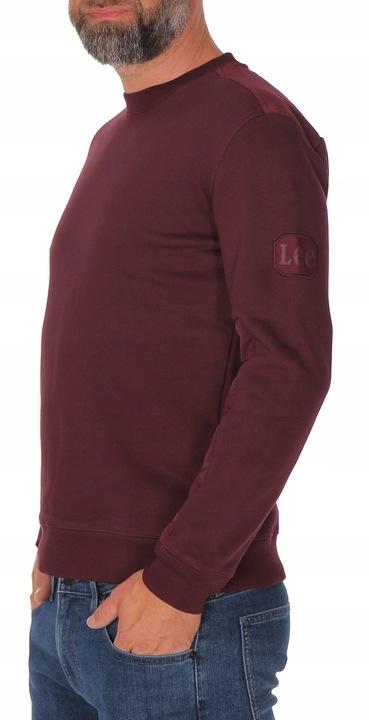 Lee colorblock crew BORDOWA BLUZA ORTALION S 9402057756 Odzież Męska Bluzy DE MAJBDE-9