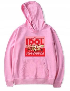 New Women's blouse IDOL Bangtan Kpop XL 42 9658261082 Odzież Damska Topy JP EPXNJP-5