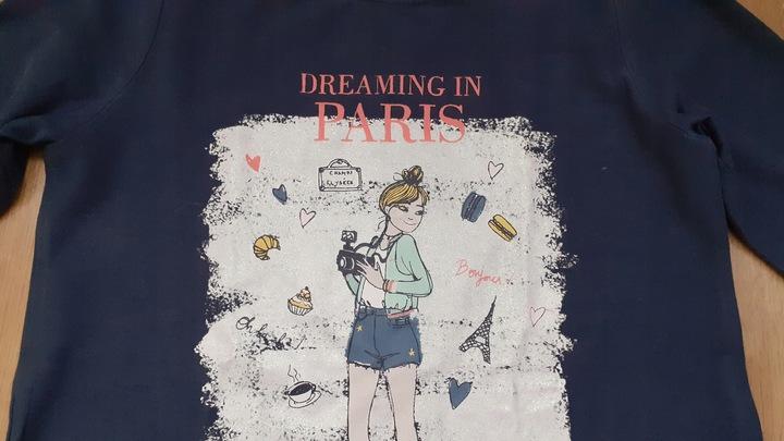 koszulka bluzeczka ZARA długi rękaw 128 9929956955 Dziecięce Odzież YJ SAVYYJ-1