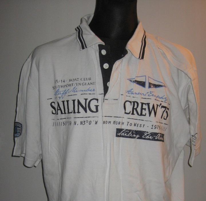 IDENTIC - koszulka polo - nadruk roz. 4 XL 9633626870 Odzież Męska Koszulki polo ML LXINML-1