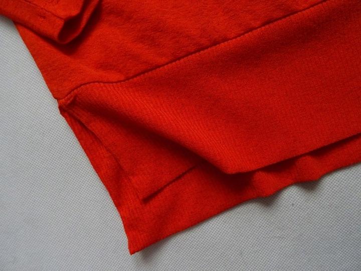 15_ NEXT pomarańczowa BLUZKA luźna 42/XL 9179344433 Odzież Damska Bluzki CP DKDRCP-1